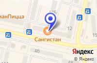 Схема проезда до компании МАГАЗИН АНГЕЛ в Южноуральске