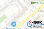 Схема проезда до компании Суши Бай в Челябинске
