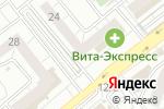 Схема проезда до компании ТриО в Челябинске
