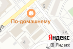 Схема проезда до компании Территория спорта в Челябинске