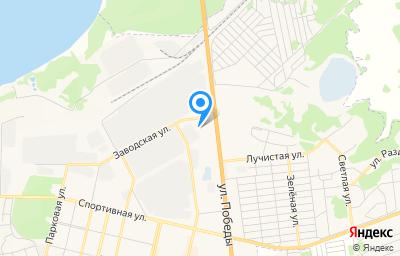 Местоположение на карте пункта техосмотра по адресу Челябинская обл, г Южноуральск, ул Победы, д 4А
