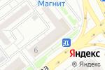 Схема проезда до компании Ural flowers в Челябинске