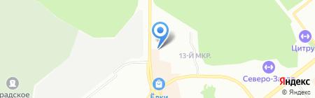 OIKOS на карте Челябинска