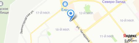 Авторесурс-М на карте Челябинска