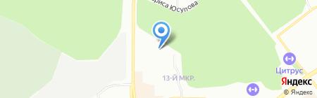 ЮУк Навигатор-связь на карте Челябинска