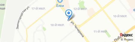 Для Тебя на карте Челябинска