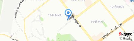 Комп Мастер на карте Челябинска
