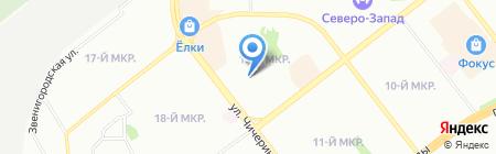 Детский сад №472 на карте Челябинска