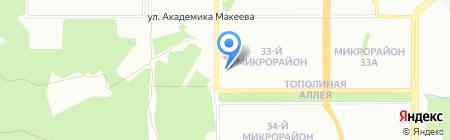 Пять звезд на карте Челябинска