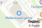 Схема проезда до компании Царь-Диван в Челябинске