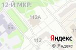 Схема проезда до компании Эксплуатационный участок №33 в Челябинске