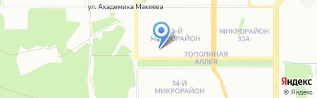 Доступная среда на карте Челябинска
