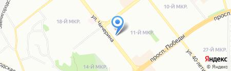 Мадам Роше на карте Челябинска