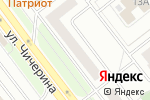 Схема проезда до компании Автосила в Челябинске