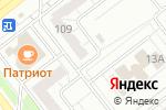 Схема проезда до компании Магазин канцелярских товаров в Челябинске