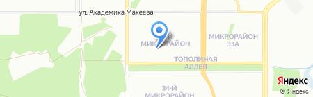 Уютный дом на карте Челябинска