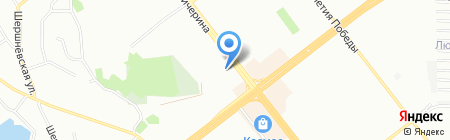 КрисС на карте Челябинска