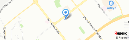 TianDe на карте Челябинска
