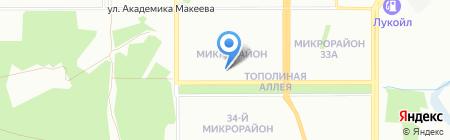 Элит-Сауна на карте Челябинска