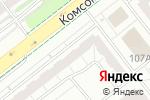 Схема проезда до компании ПрофЭстетик в Челябинске