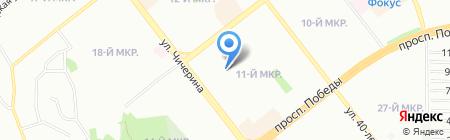 ИФНС на карте Челябинска