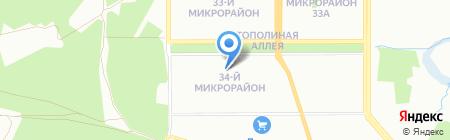 Бэби-клуб на карте Челябинска