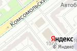 Схема проезда до компании Чел ПК в Челябинске