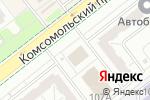 Схема проезда до компании Адвокат Русских Д.Г. в Челябинске