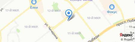 ДПА Картон на карте Челябинска