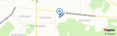 Fit Club на карте Челябинска