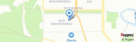 Новостройки на карте Челябинска