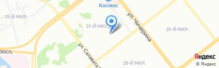 Детский сад №481 на карте Челябинска
