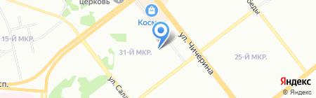 Дуэт на карте Челябинска