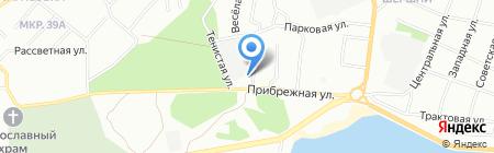 Мир окраски на карте Челябинска