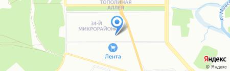 ВкусНяша на карте Челябинска