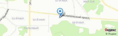 Радость моя на карте Челябинска