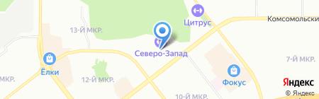 Мастерская по заточке коньков на карте Челябинска