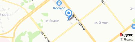 Amore mio на карте Челябинска