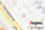 Схема проезда до компании Ивея в Челябинске
