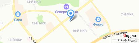ГАРМ на карте Челябинска