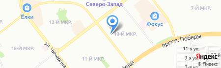 АДИС на карте Челябинска