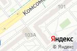 Схема проезда до компании Актив-смайл в Челябинске