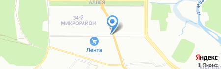 Автошин на карте Челябинска
