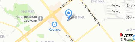 Детский сад №219 на карте Челябинска