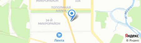 Alazani на карте Челябинска