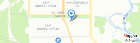 Анализ Права на карте Челябинска