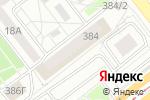 Схема проезда до компании Набран в Челябинске