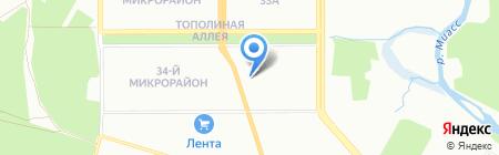 Студия дизайна Марины Кутеповой на карте Челябинска