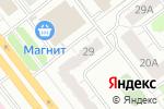 Схема проезда до компании Итоги74.ру в Челябинске