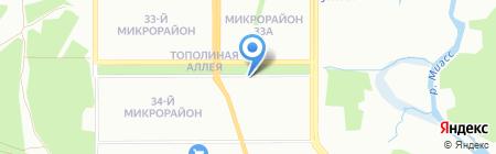 МедАрт на карте Челябинска
